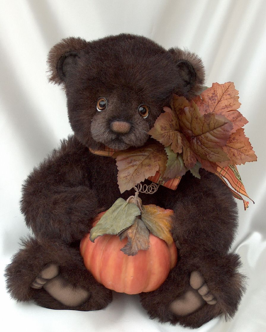Leif - Long Long Ago Collectibles by Teddy Bear Artist Pat Youderin