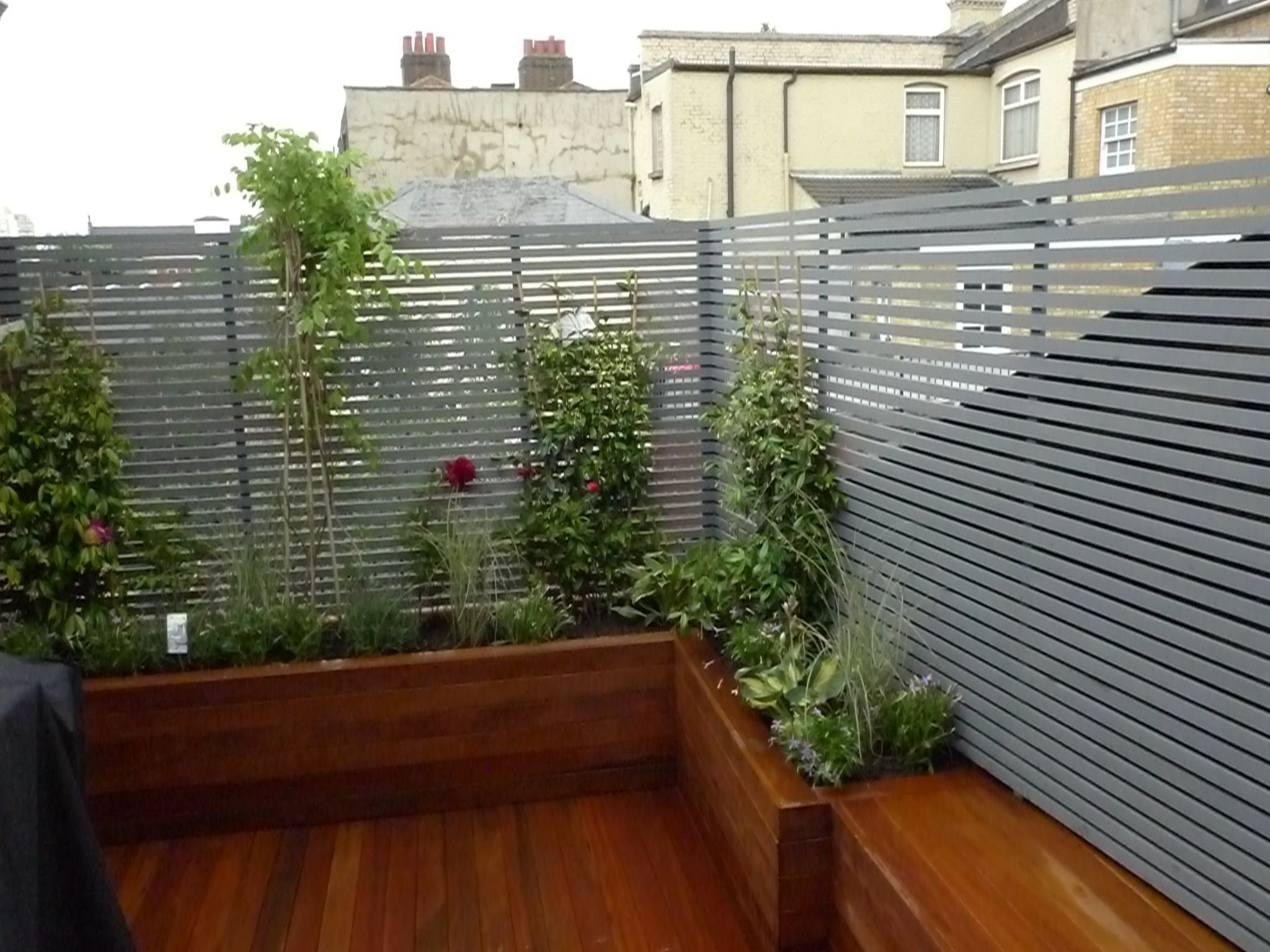 Decking for fences, roofs and walls 17