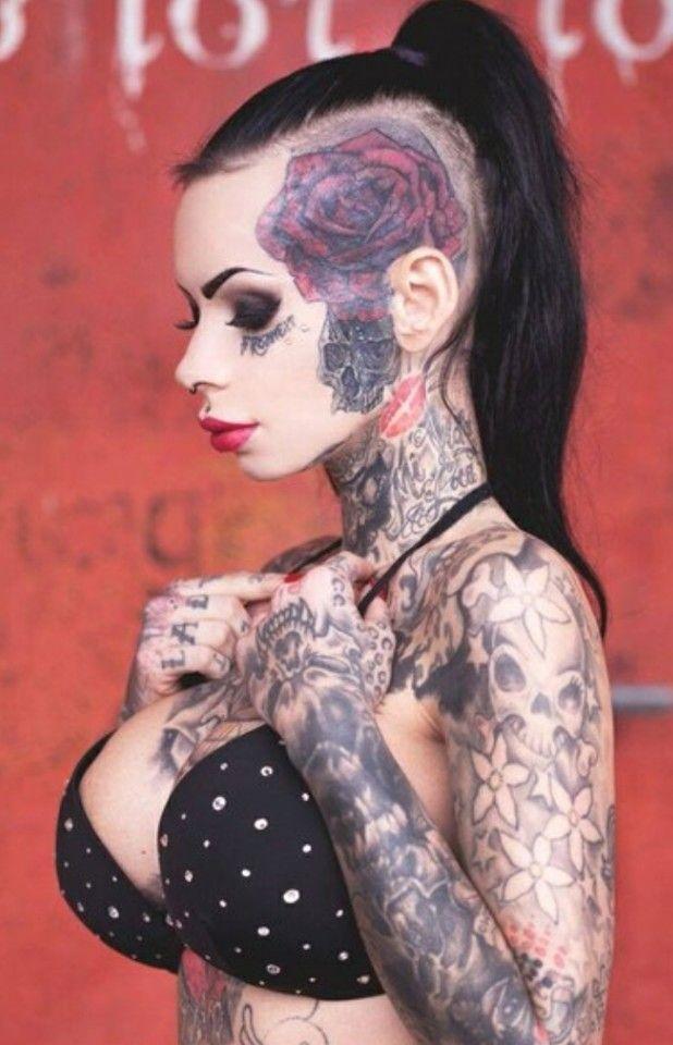 Pin von Sven Schäfer auf Diamond girl   Tattoos frauen