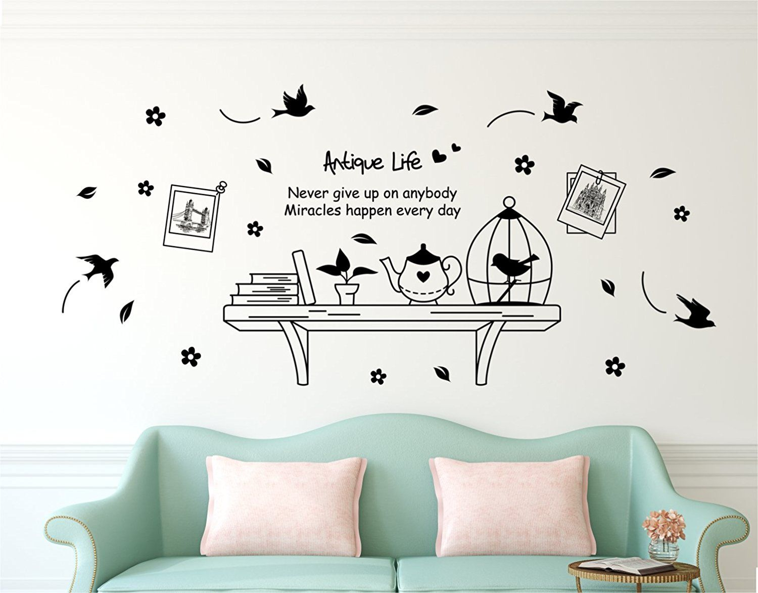 Buy Solimo Wall Sticker For Living Room Wall Shelf Ideal Siz