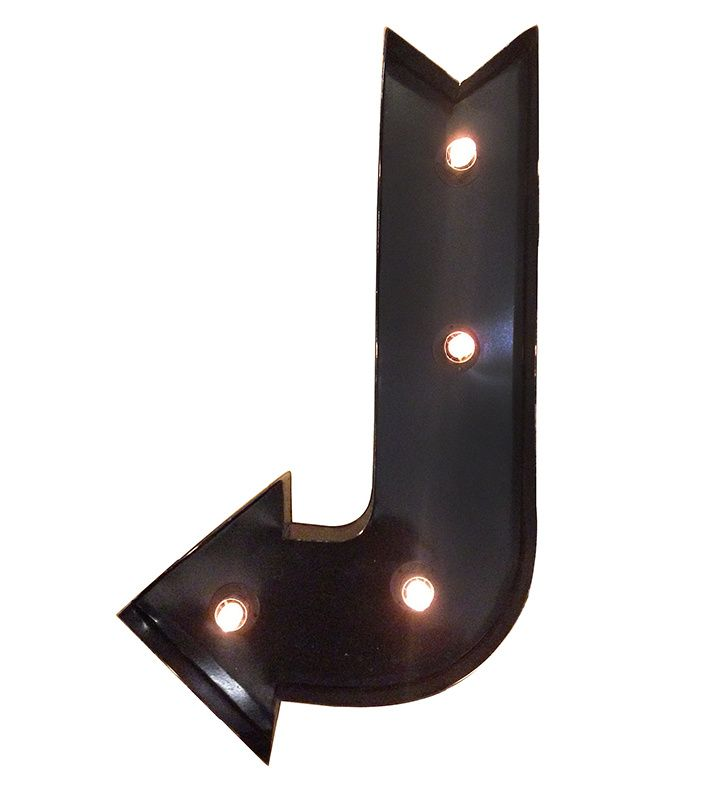 Lichtpijl black Arrow