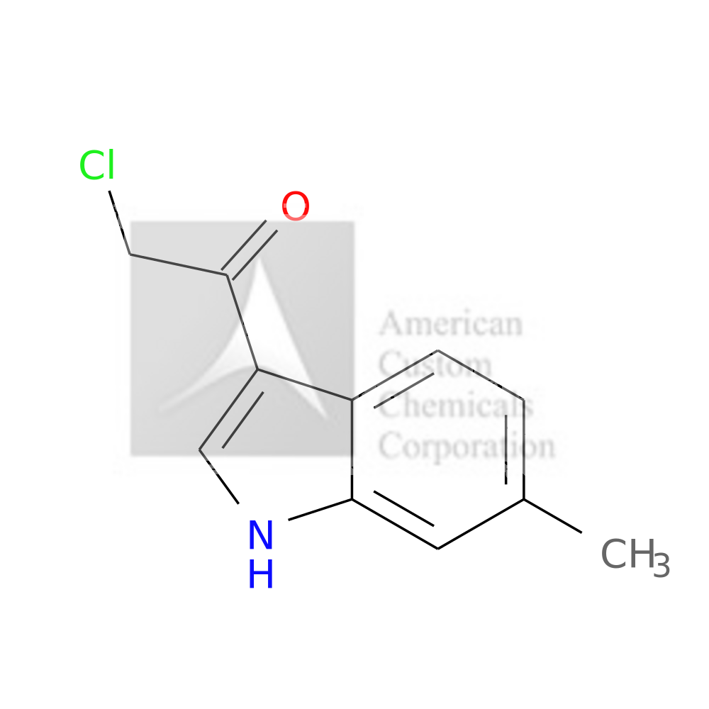 2-CHLORO-1-(6-METHYL-1H-INDOL-3-YL)ETHANONE is now  available at ACC Corporation