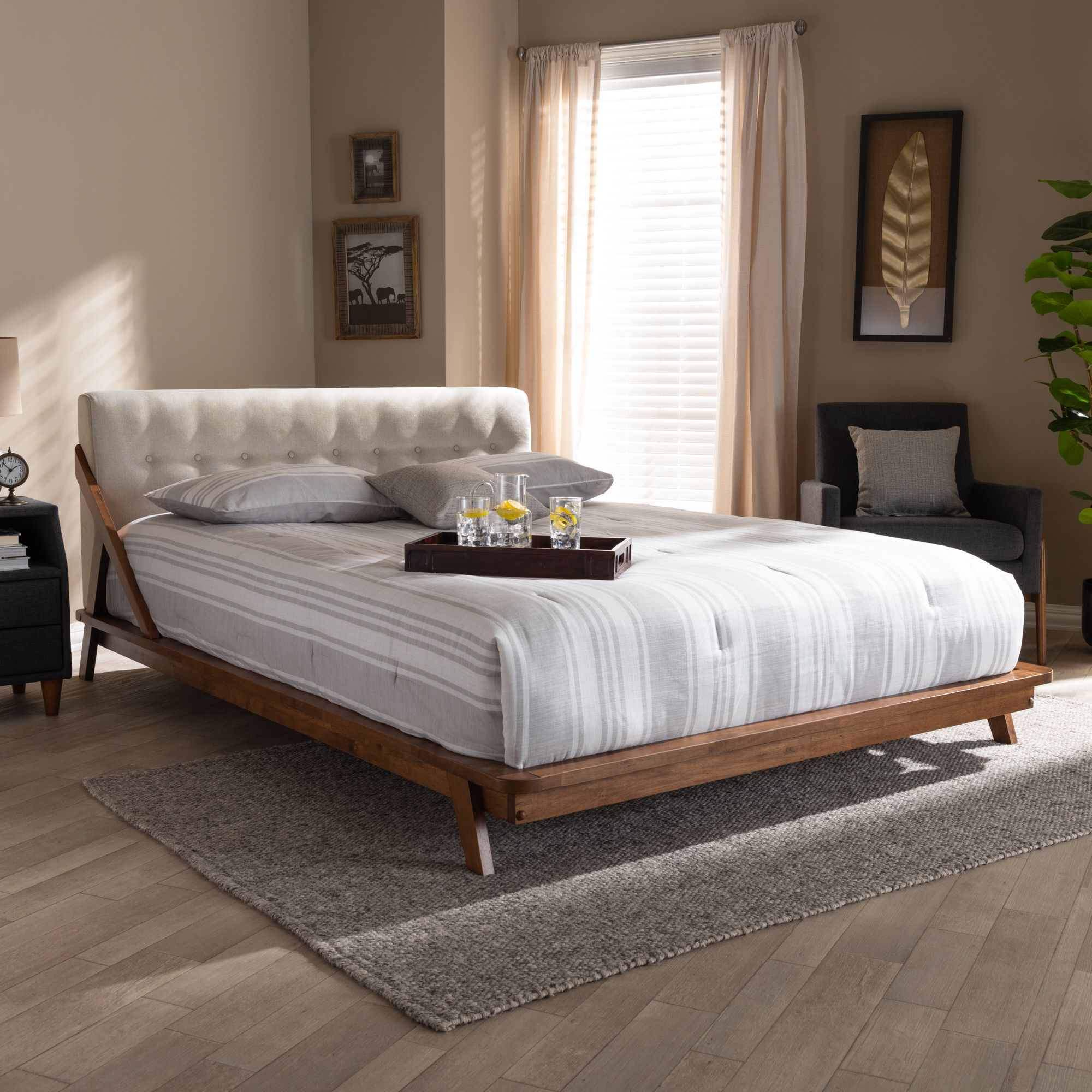 Home In 2020 Upholstered Platform Bed King Size Platform Bed