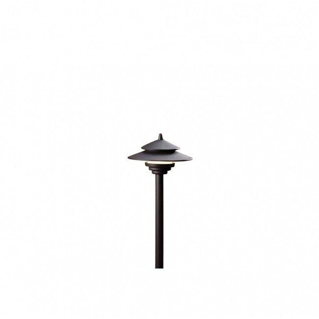led black pagoda path light free shipping led landscape lighting