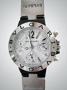 2d9df04f43b Uno de los relojes Bulgari Diagono