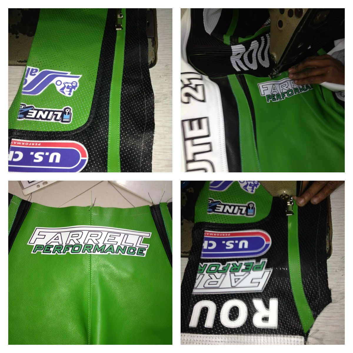 ece6a95e45c Motorcycle race suit manufactured by ROUTE 21 Racing Apparel ...