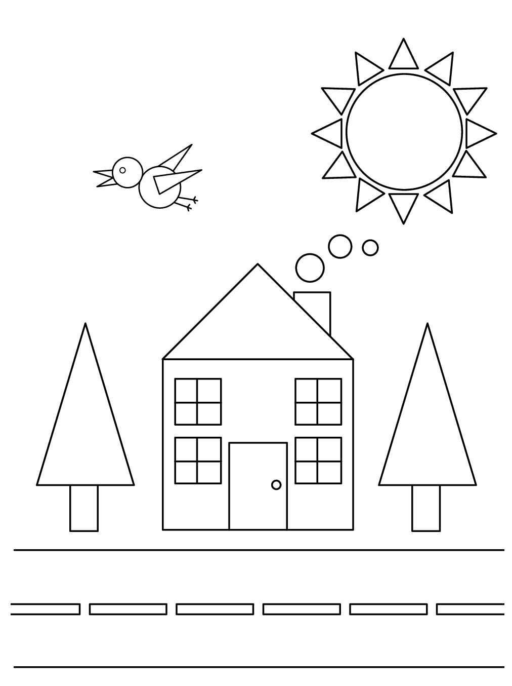 Back-to-Back Drawing Activity (Worksheet)   Therapist Aid