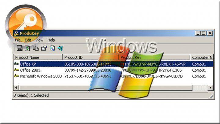 برنامج مجاني لإظهار مفاتيح منتجات وتطبيقات مايكروسوفت مونت كارلو الدولية Microsoft Windows Microsoft Segmentation