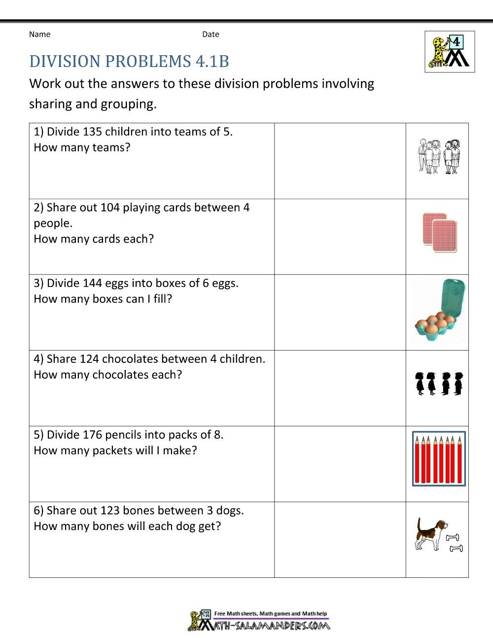 Predownload: Pin By Claudia Schianchi On Problemi Division Worksheets Division Worksheets Grade 4 Free Math Worksheets [ 1294 x 1000 Pixel ]