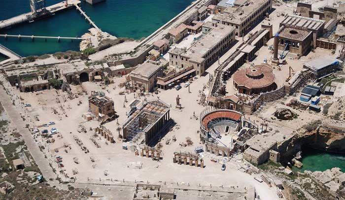 Agora - Fort Ricasoli. Foto Jurgen Scicluna/ MTA