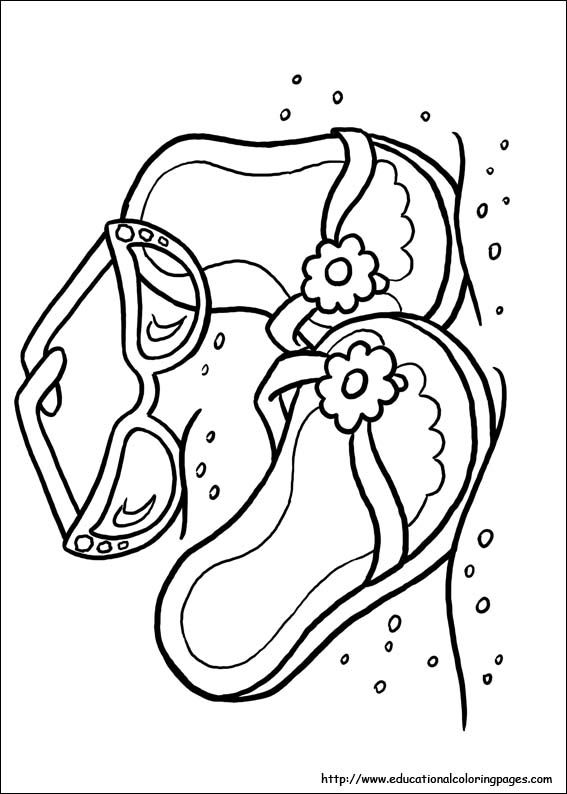 Educational Fun Kids Coloring Pages and Preschool Skills ...