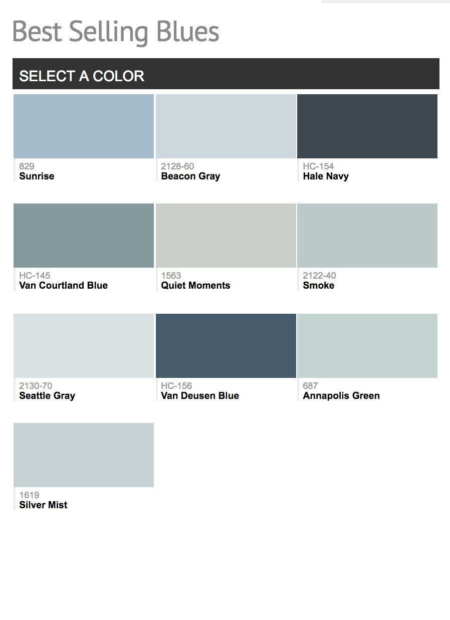 Most popular benjamin moore paint colors pick a paint - Most popular bedroom paint colors ...