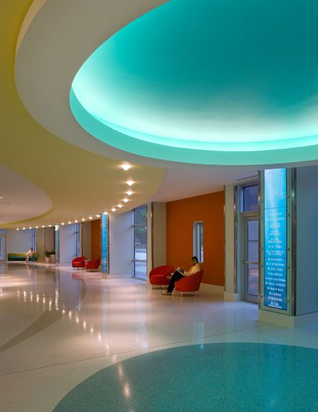 Children 39 S Healthcare Of Atlanta By Architect Stanley Beaman Sears Interior Design Features