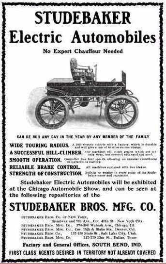 1903 Studebaker Automobile Adver