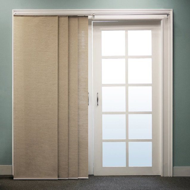 Ikea panel curtains for sliding glass doors google for Panel tracks for patio doors