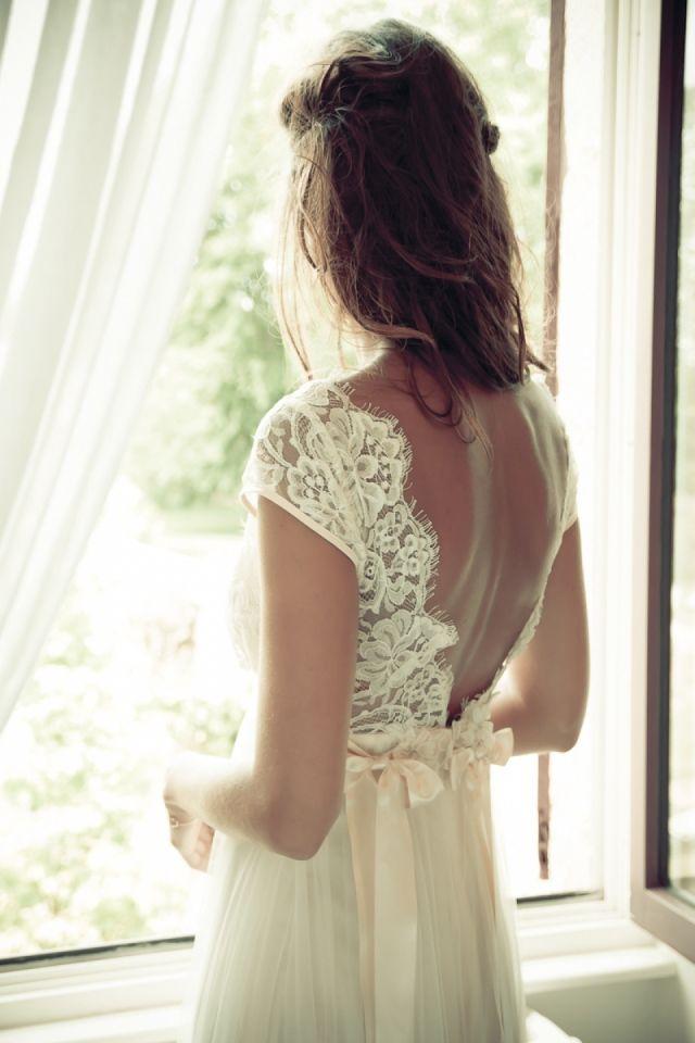 Romantisch Trouwen In Frankrijk Trouwjurk Wedding Dress