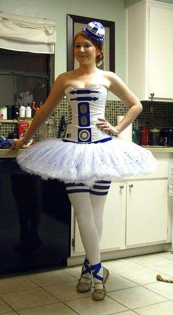 R2D2 ballerina