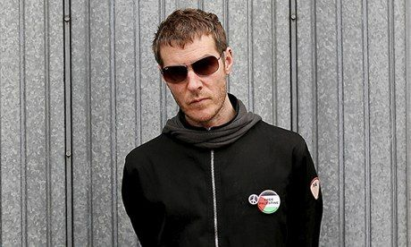 Del Naja, AKA 3D of Massive Attack: 'His influence was always there on us.' Photograph: Graeme Robertson for the Guardian