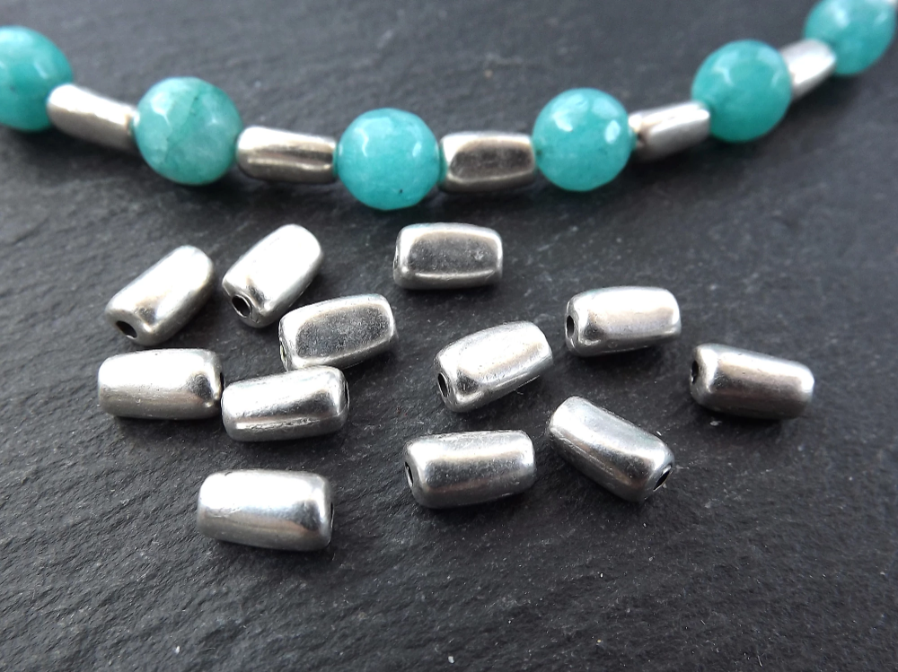 21++ Metal tube beads for jewelry making information