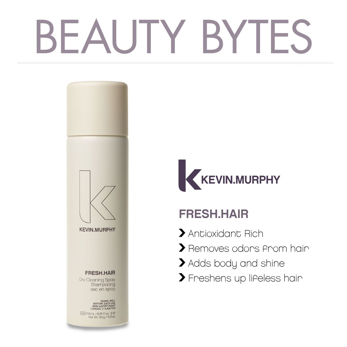 Did you know kevin murphy fresh hair is like a dry for A fresh start beauty salon
