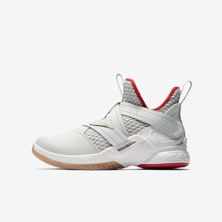new arrival 6020e 8ea93 Nike LeBron Soldier XII Big Kids  Basketball Shoe