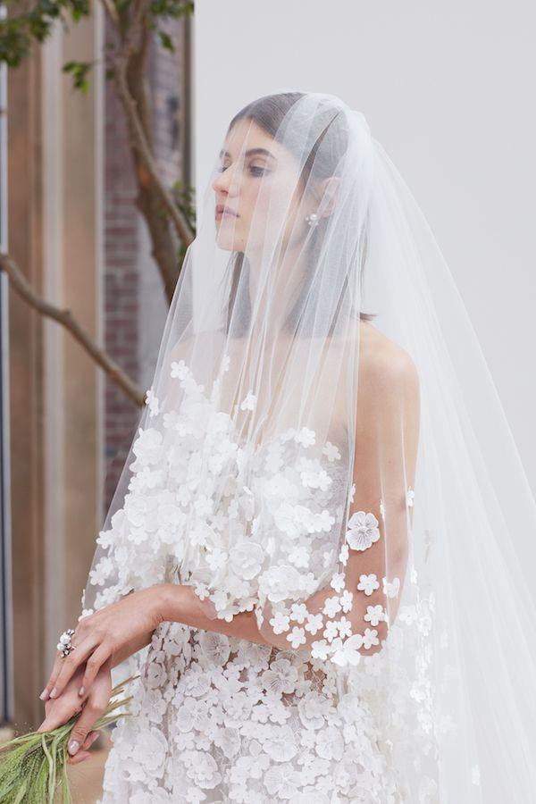 Oscar de la Renta Mùa xuân 2018 Bộ sưu tập cô dâu - lối đi hoàn hảo