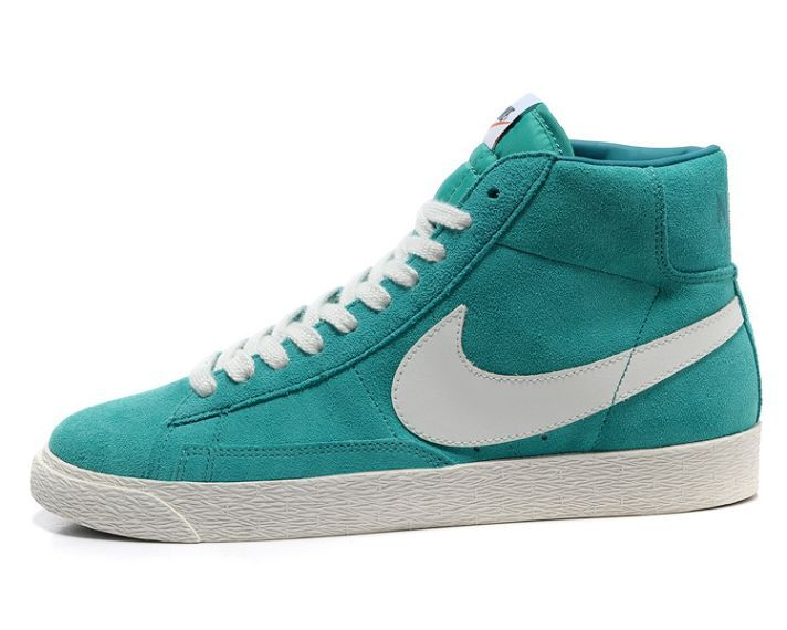 Women Nike Blazer High Blue Shoes Shoes