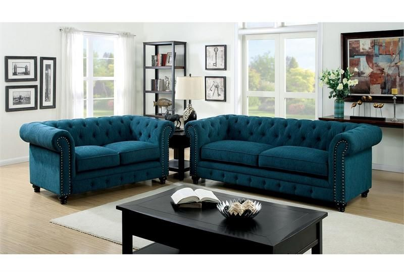 Cm6269tl Stanford Dark Teal Sofa Collection Muebles Para Casa Muebles Sala Muebles Para El Hogar