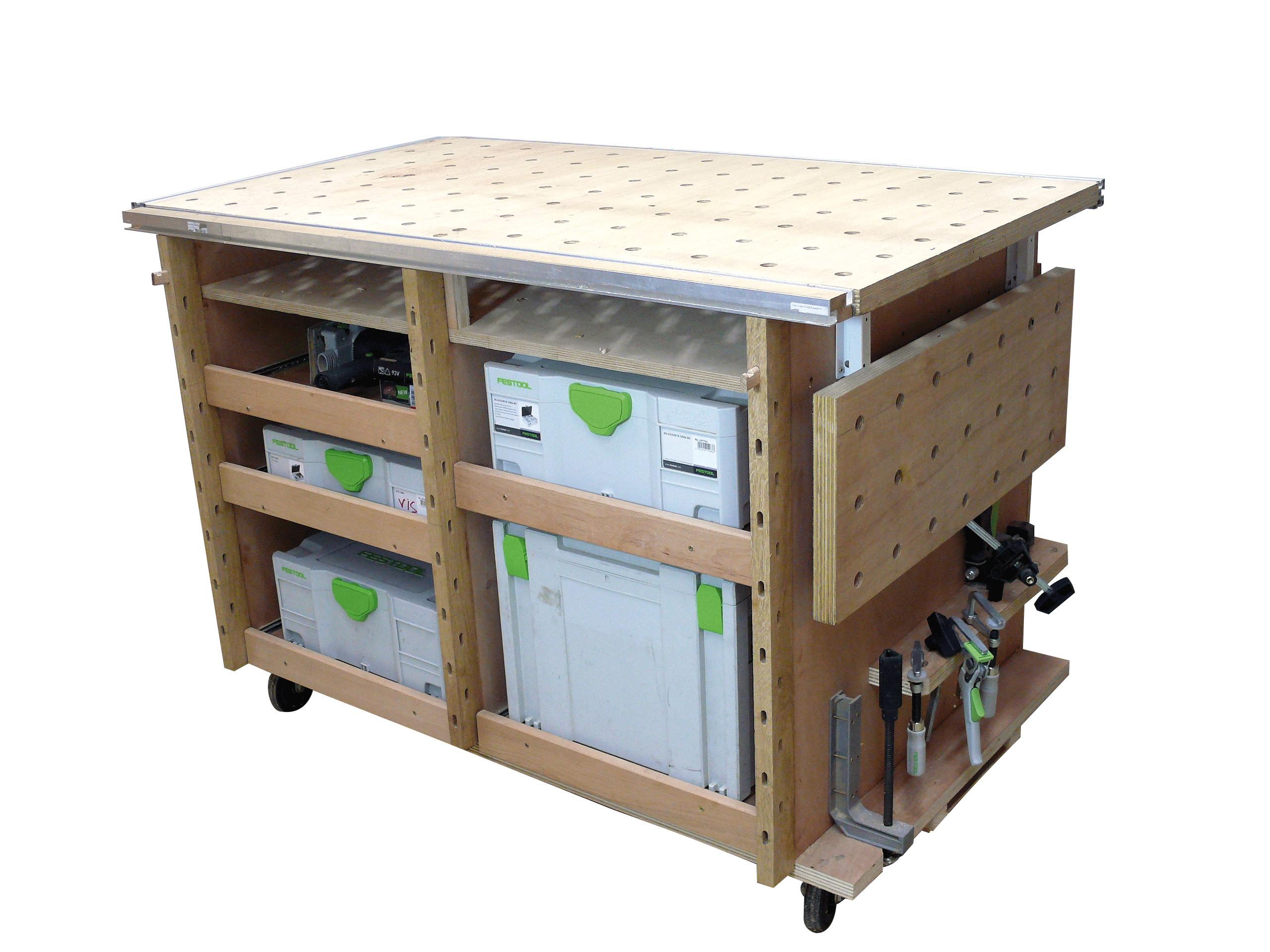 Construire Un Etabli Multifonction Épinglé sur shop