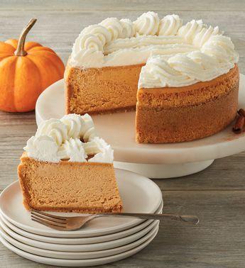 The Cheesecake Factory® Pumpkin Cheesecake - 7 #pumpkincheesecake