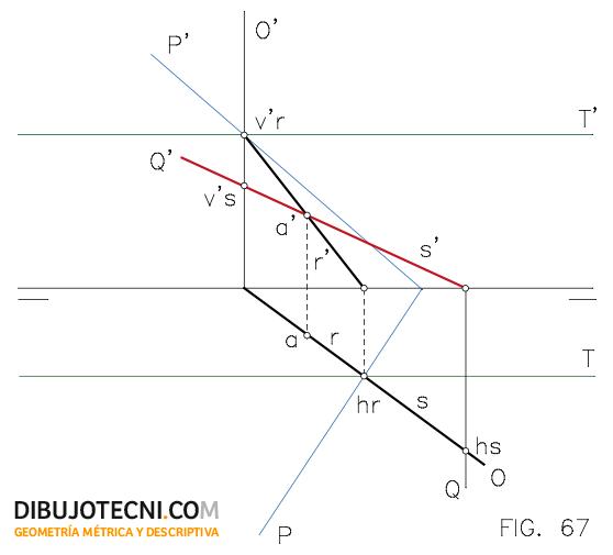 Sistema Diedrico Intersecciones Dibujo Tecnico Tecnicas De Dibujo Planos