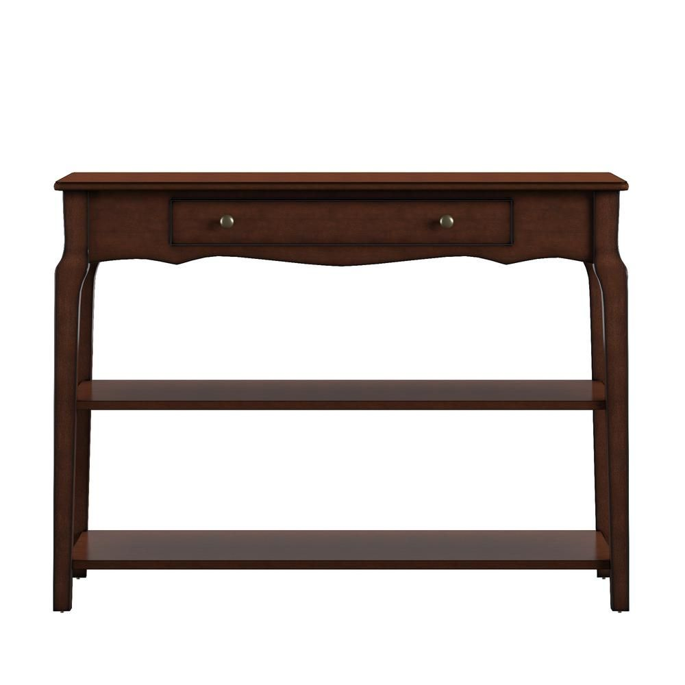 Marvelous Homesullivan Espresso Sofa Table Tv Stand Brown Products Ibusinesslaw Wood Chair Design Ideas Ibusinesslaworg