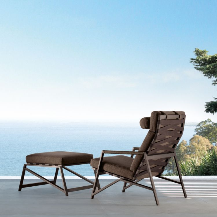 loungemoebel garten sessel polsterung hocker terrasse Terrasse