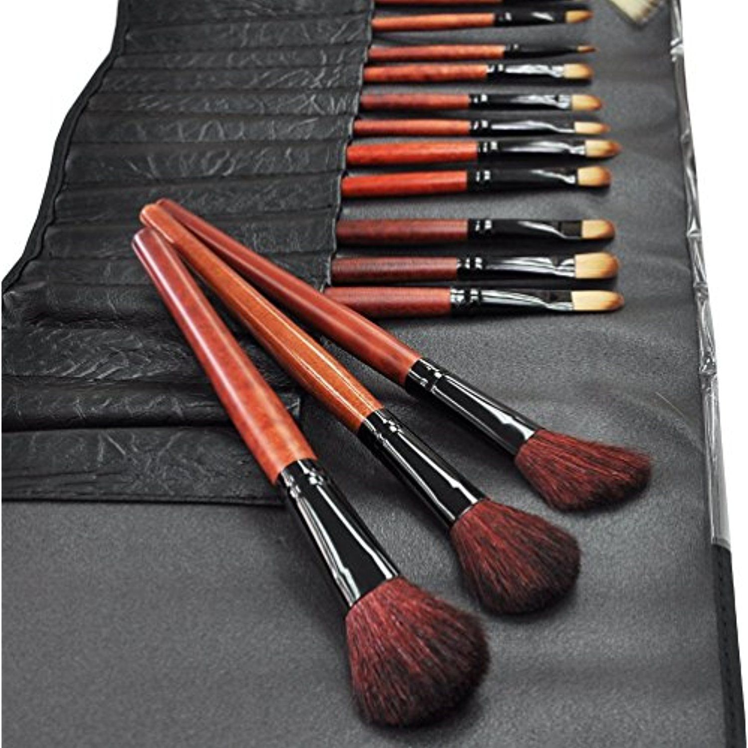 Beauties Factory 24pcs Cosmetic Makeup Brushes Set Kit w