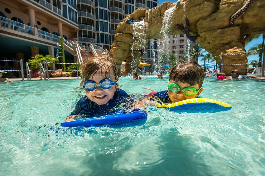 10 Best Hotel Pools In The U S For Families With Kids Florida Hotels Best Resorts For Kids Florida Resorts