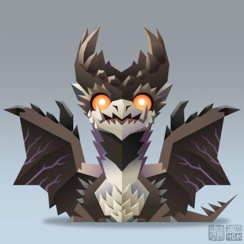 Alatreon Monster Hunter Art Monster Hunter Memes Chibi Dragon