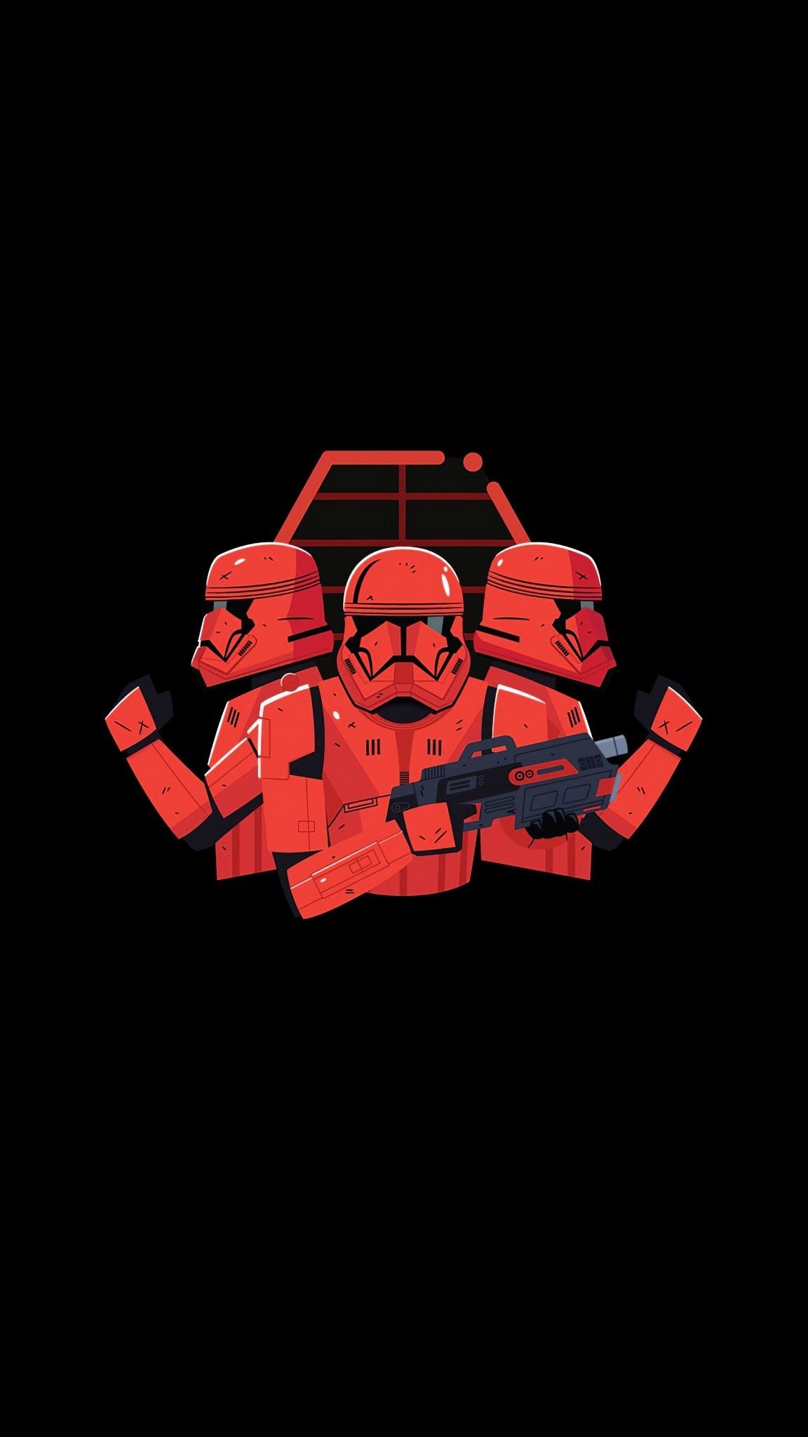 Storm Troopers Minimalist In 2020 Star Wars Movies Ranked Star Wars Wallpaper Iphone Star Wars Background
