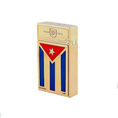 ST Dupont Prestige Collection Limited Edition 288 074/288 Cuba Libre Lighter #historyofcuba Park the flame of revolution with the glamour of S.T. DuPont's Cuba Libre collection, using rare handcraft techniques to bring the free spirit of Cuba to life in exquisite detail. In honor to the freedom of Cuba, S.T. DuPont pays homage to the rich heritage and history of this colorful country by handcrafting an exclusive range of writing instruments and lighters with well-known and renowned jeweler Tou #historyofcuba