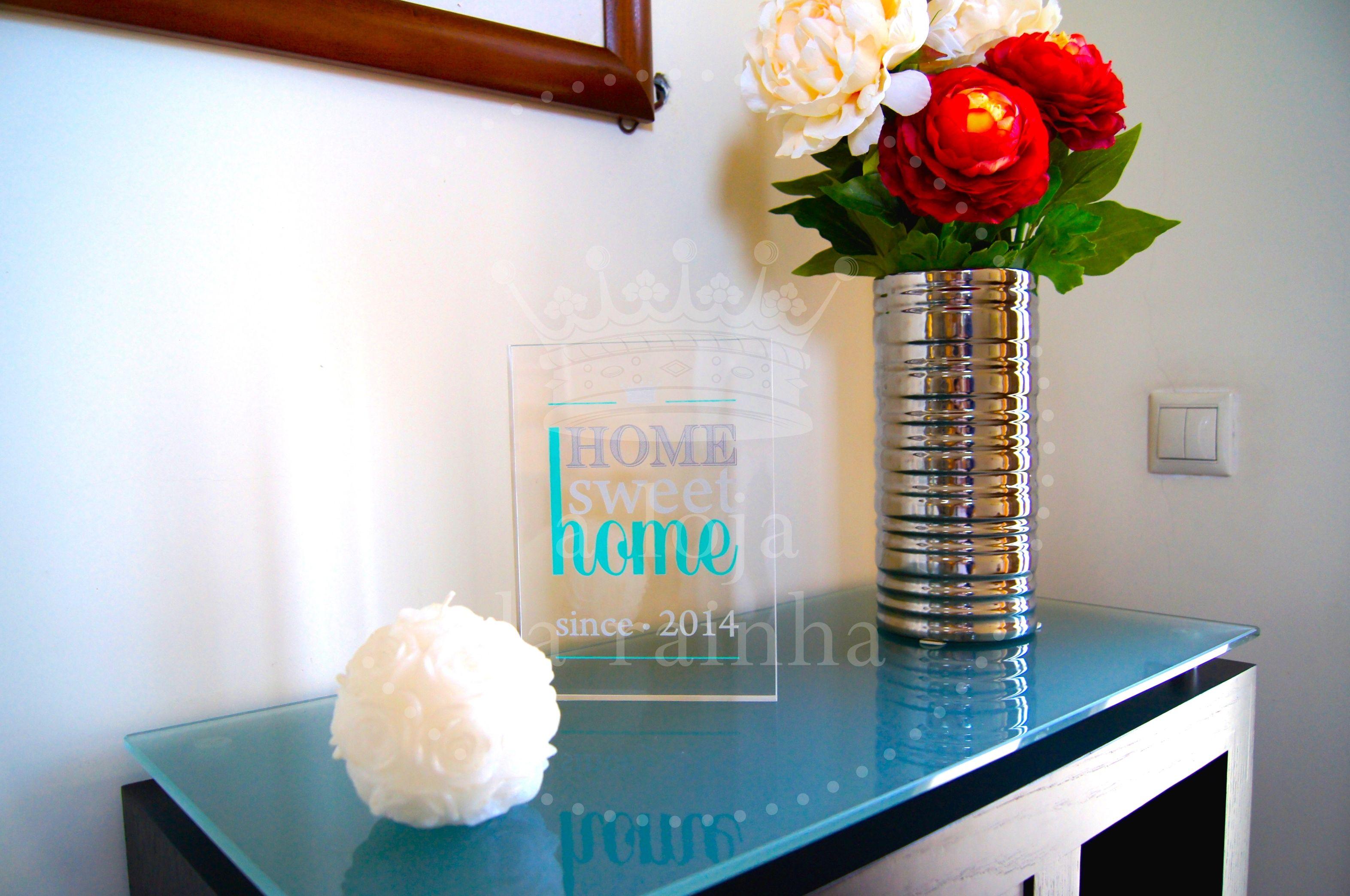#acrilico #quadro #home #sweet