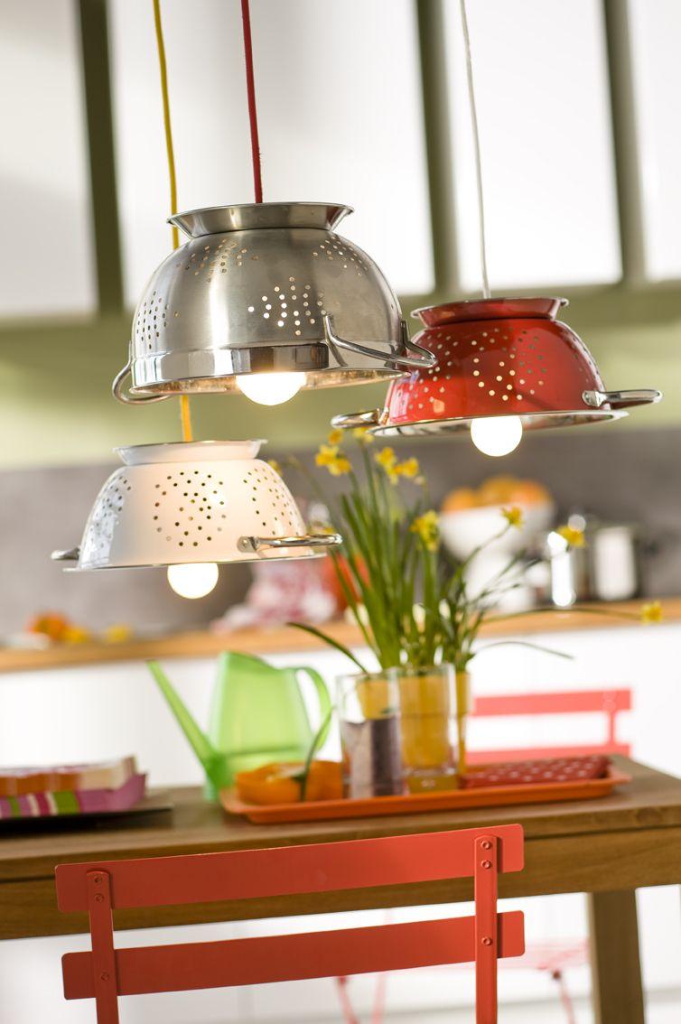Des id es de luminaires faire soi m me pour la cuisine inspirations d co - Des idees pour la cuisine ...