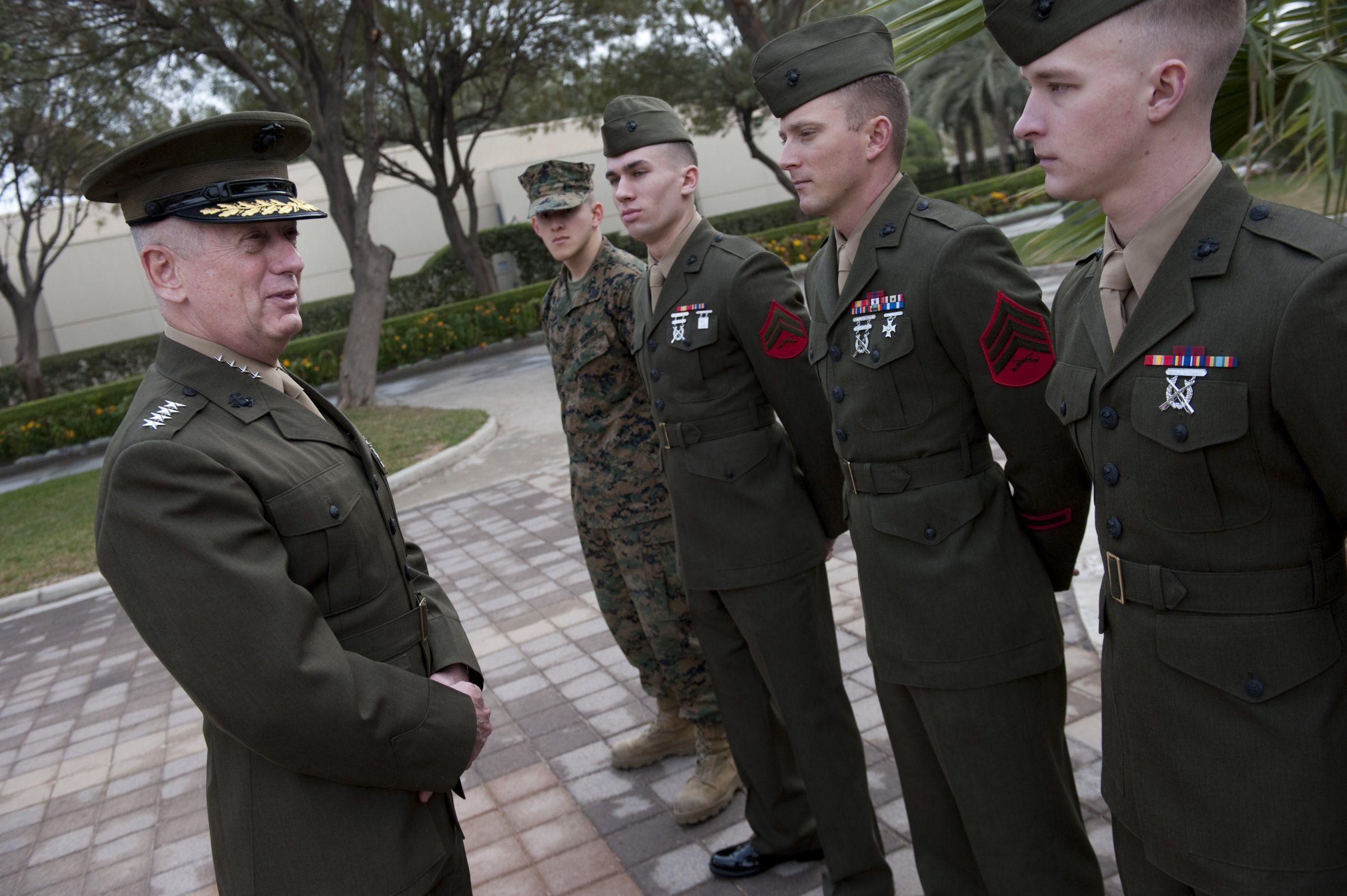 We Asked General Mattis Why Civilians Don T Understand War James