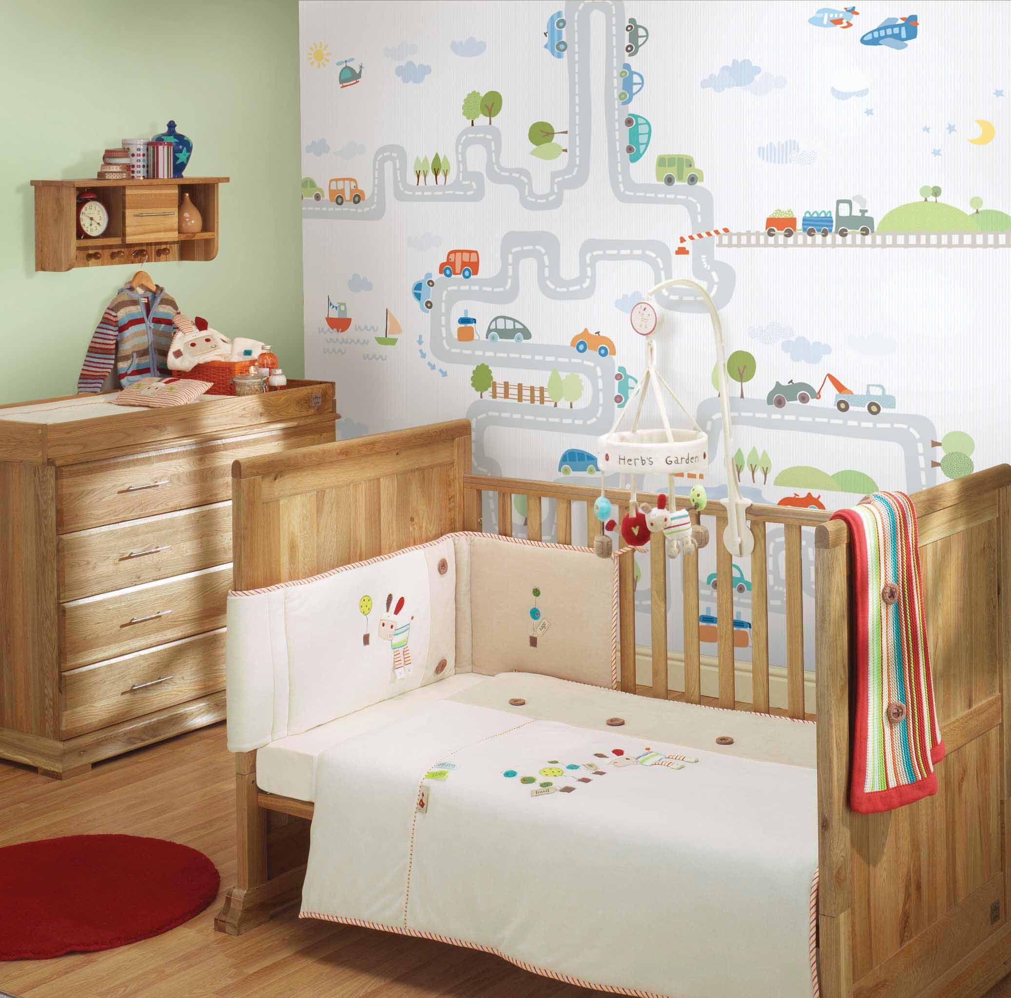 Empapelado Mural Autitos Papel De Parede Diseño De Habitación De Bebé Habitaciones Infantiles Camas Infantiles