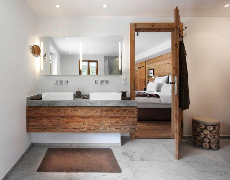 Moderne Bäder Mit Holz Exquisit On Modern In Bezug Auf Badezimmer