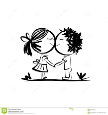 Image Result For Love Is Couple Cartoon Black And White Couple Wallpaper Couples In Love Couple Drawings