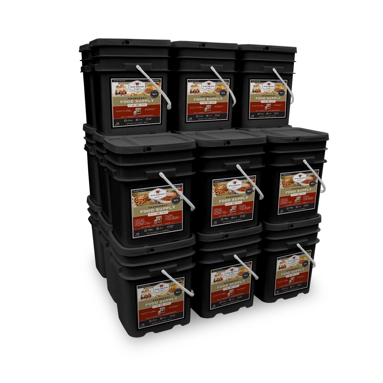 Vegetarian Long Term Kits Emergency food storage