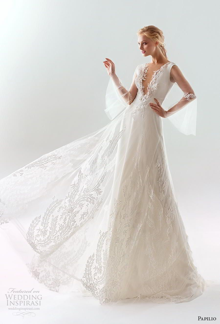 Night before wedding decorations january 2019 Papilio  Wedding Dresses u ucWhite Windud Bridal Collection