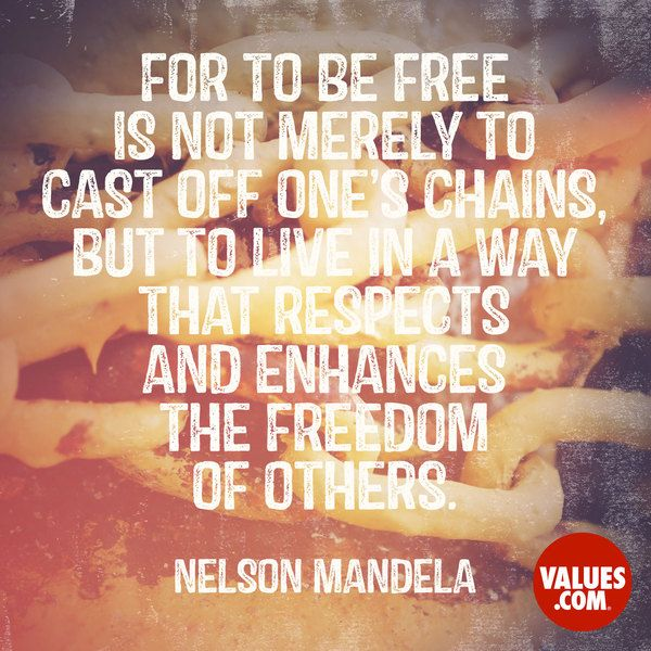 Nelson Mandela #quote #equality #passiton
