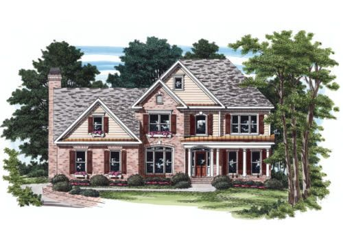 Austell - Home Plans and House Plans by Frank Betz Associates