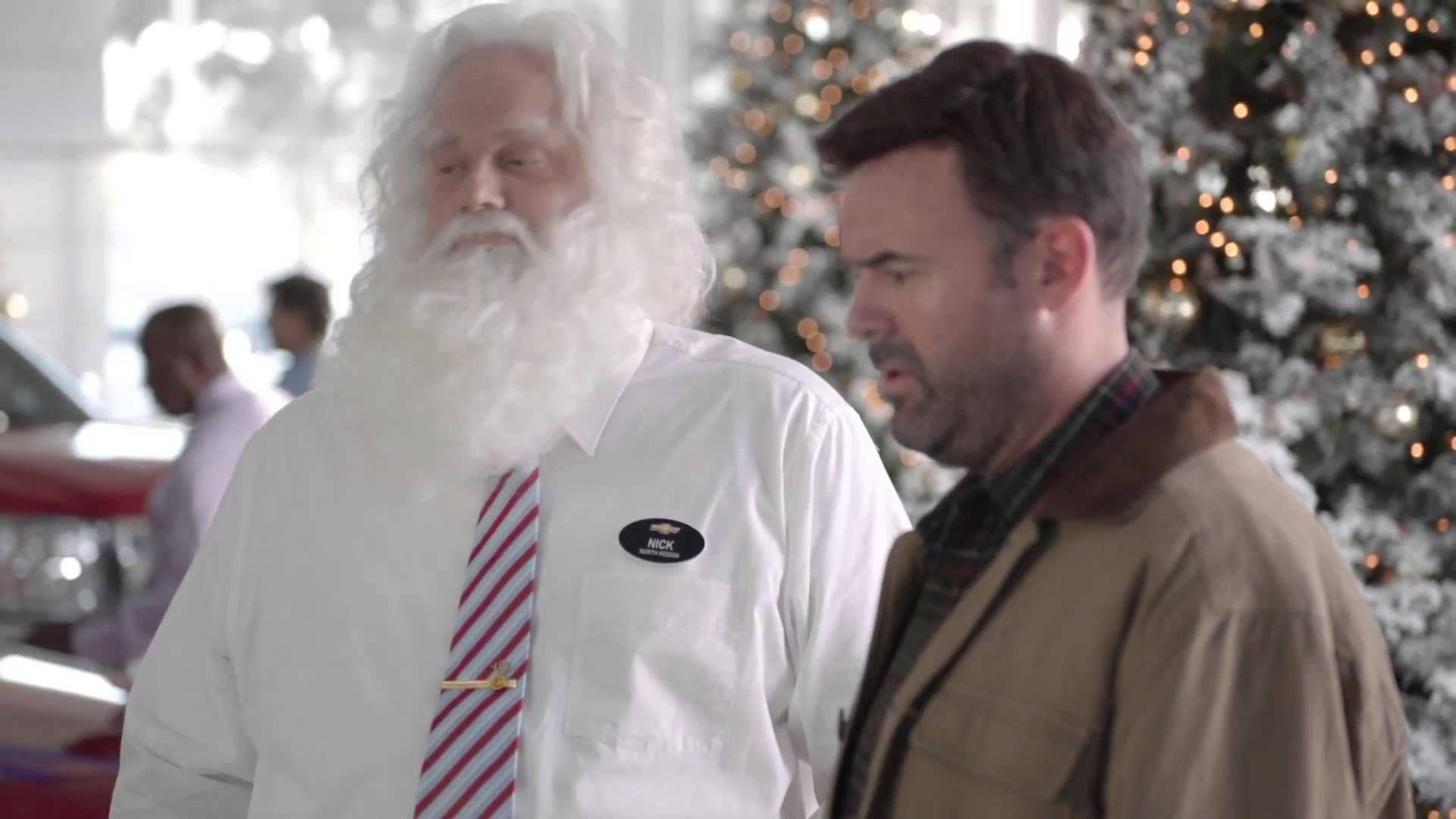 Chevrolet 2013 Christmas Funny Commercial Santa Claus