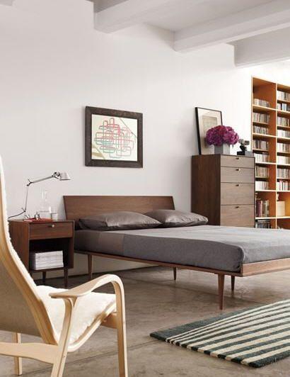 American Modern Bed